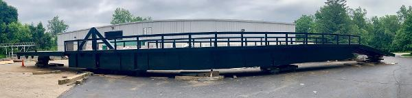 Commercial 180' x 12' Bridge/ 2 Barges