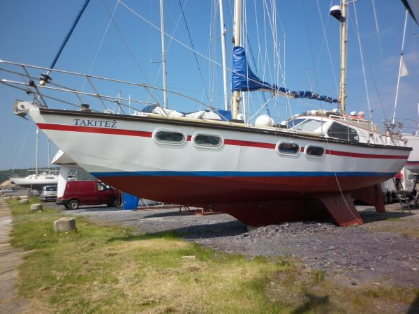 44ft TRIPLE KEEL KETCH