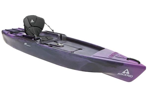 Ascend 9R Sport Sit-On - Purple-Black