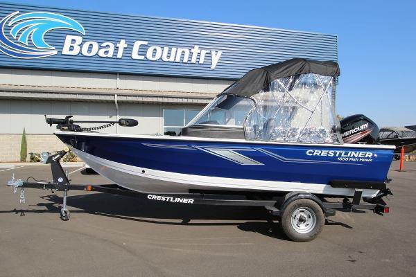 Crestliner 1650 Fish Hawk WT w/ Jumpseats