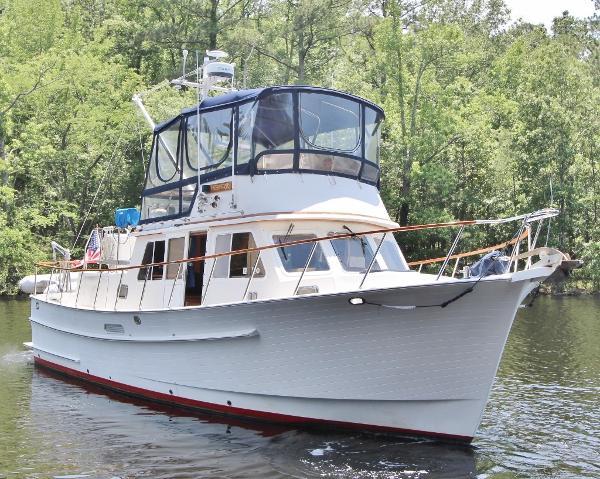 Monk 36 Trawler HESPERUS