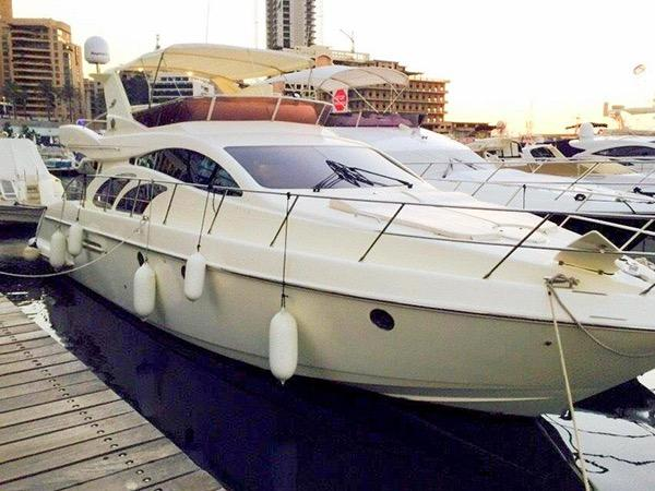 Azimut 50 fly KING HENRY X