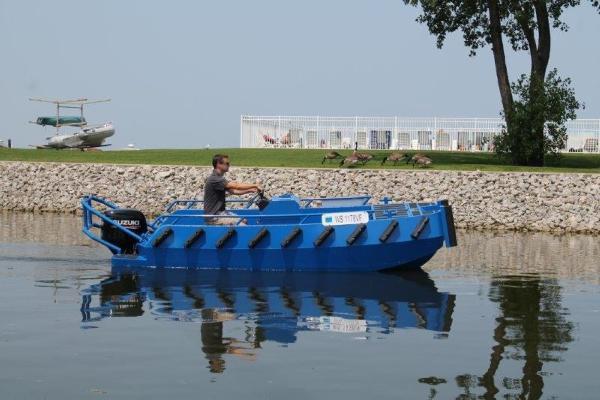 Ribjet Custom Aluminum Push Boat