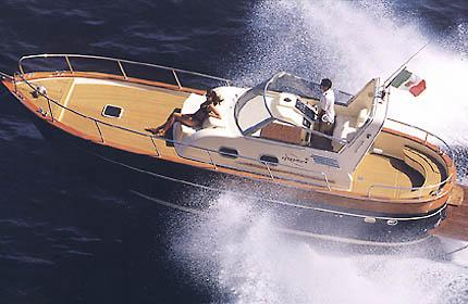 Apreamare 10m Manufacturer Provided Image: Semi Cabin Version