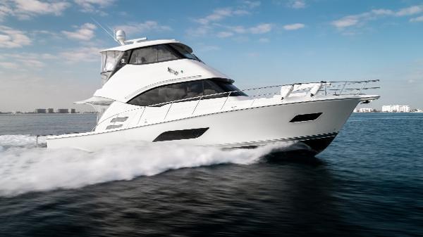 Riviera 50 Enclosed Bridge Profile Starboard