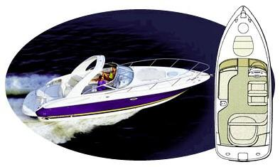 Monterey 298SC Sport Cruiser Manufacturer Provided Image