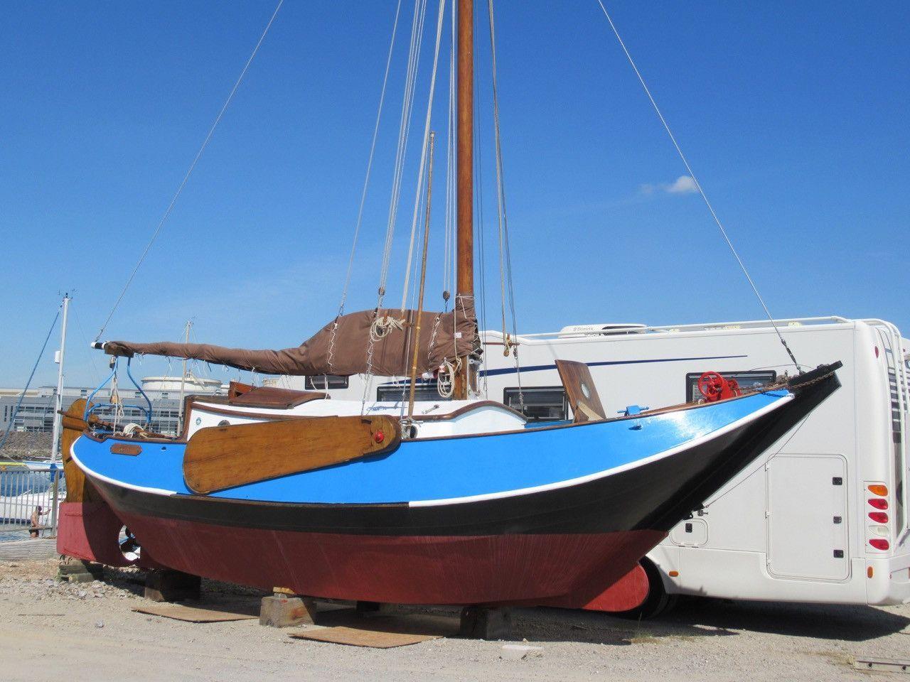 Dutch Sailing Boat