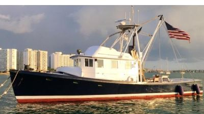 Jarvis Newman 46 Pilot House Trawler 1979 Jarvis Newman 46 Pilot House Trawler