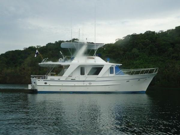 Defever 48 Tri Cabin Trawler New Motors