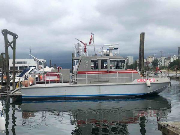 Workboat Fire Boat