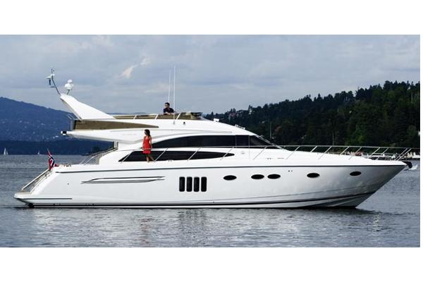 Princess 62 Flybridge Manufacturer Provided Image