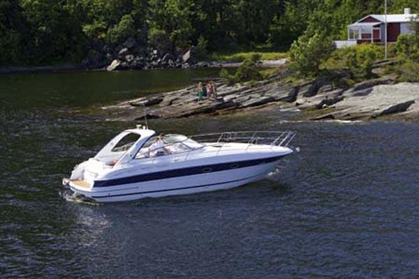 Bavaria Motor Boats BMB 35 Sport Manufacturer Provided Image: Moored
