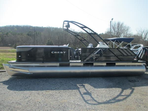 Crest Pontoon Boats Caliber 250 SLR2