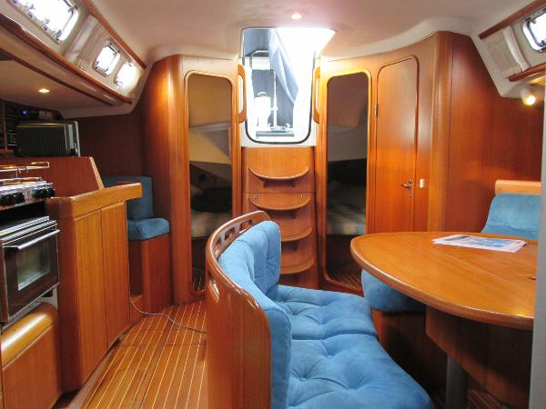 View aft in saloon