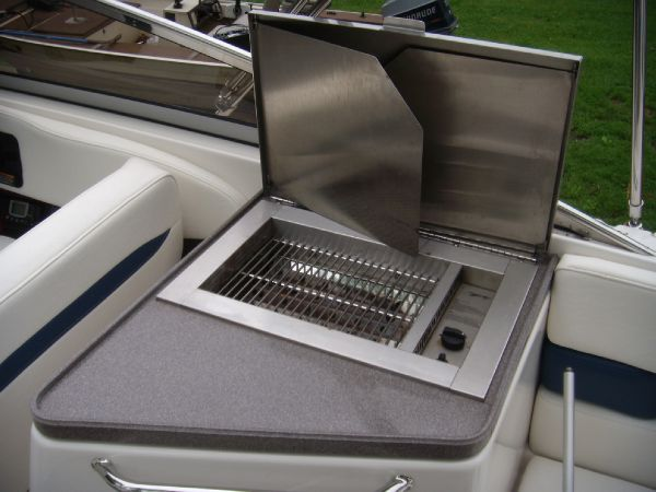 Cockpit Gas Grill