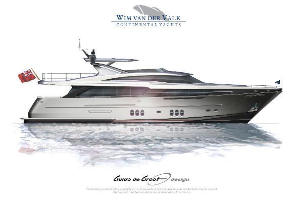 Wim Van der Valk Continental III Motoryacht