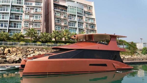 Custom Hybrid EC 50 Catamaran Profile