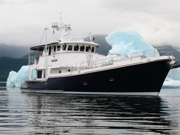 Nordhavn 62 in Alaska