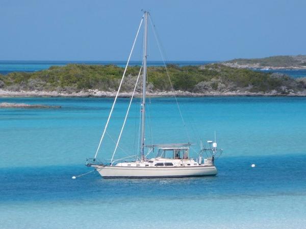 "Island Packet 485 2009 Island Packet 485 ""SeaSalt"" Bahamas"