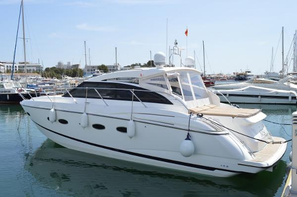 Princess V42 Port view