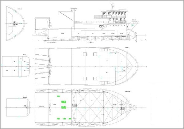 Trawler Fishing Boat Project Photo 1