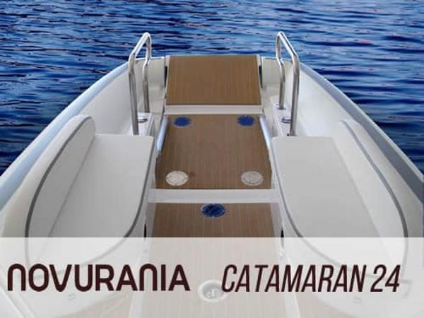 Novurania Catamaran 24 Manufacturer Provided Image