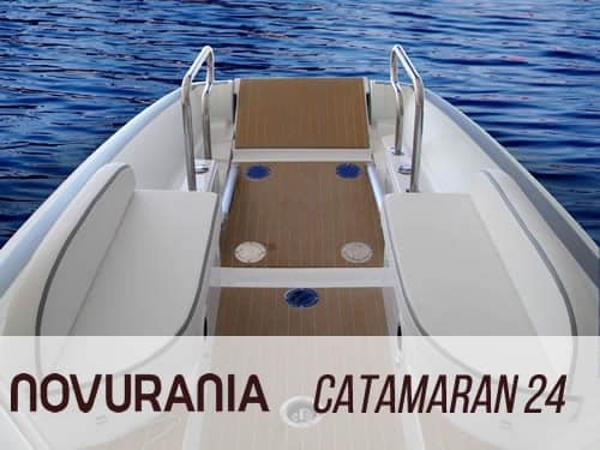Novurania Catamaran 24 Manufacturer Provided Image