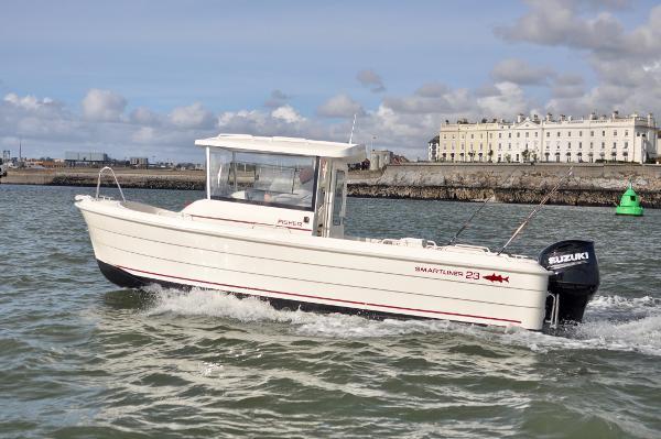 Smartliner Fisher 23 Cruising