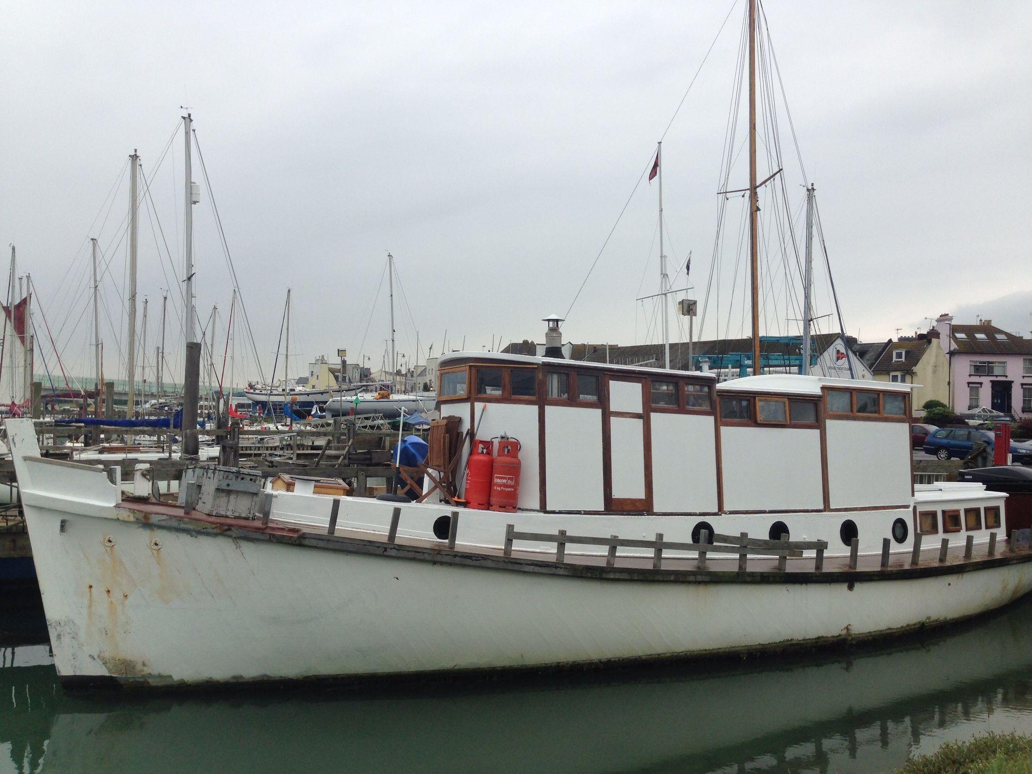 Ex Admiralty Harbour launch 52