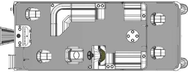 Apex Marine 822 VX SPORT CRUISE