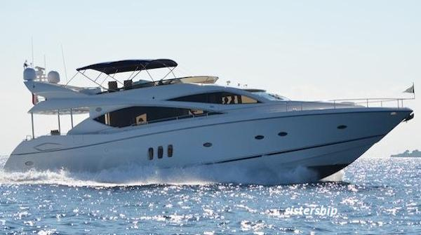 Sunseeker 75 Yacht Sailing