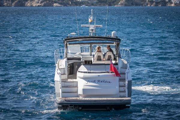 Princess V48 Open Transom