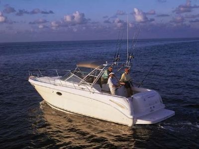 Sea Ray 290 Amberjack Manufacture Picture* Sister-ship Photo*