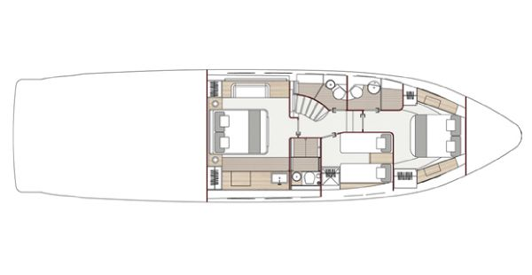 T60 Lower Deck Layout Plan