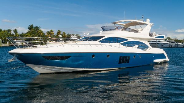 Azimut Flybridge Profile Port
