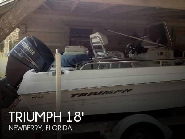 Triumph 190 Bay Boat 2007 Triumph 190 Bay Boat for sale in Newberry, FL