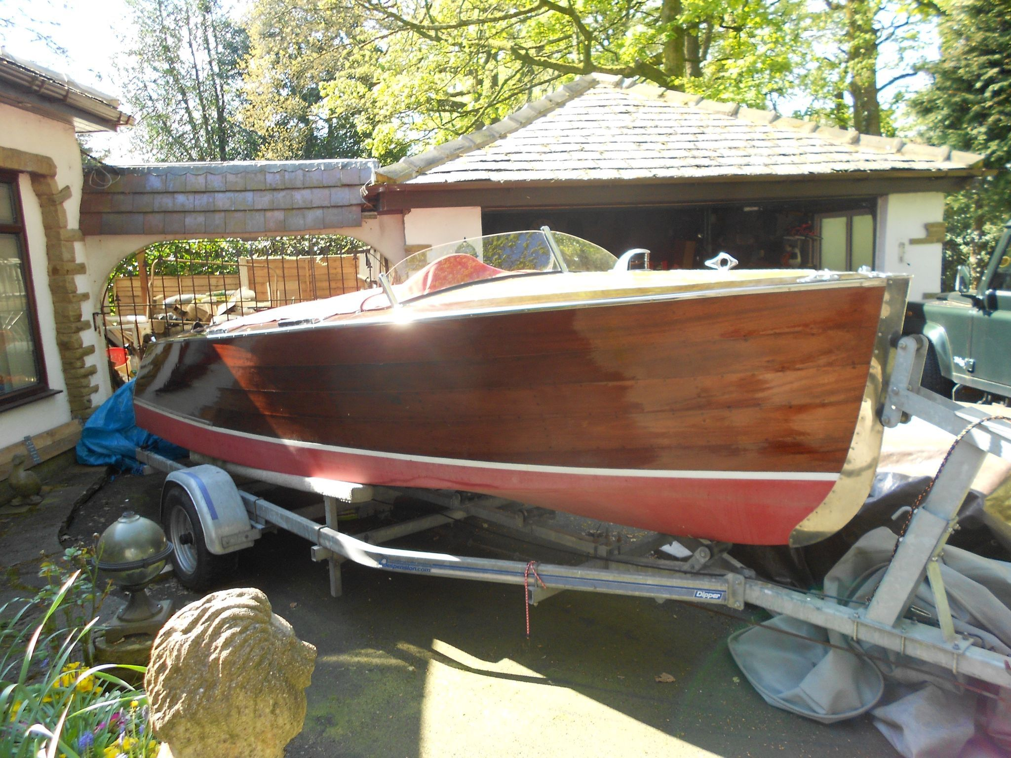 Chris-Craft 17 De Luxe Runabout