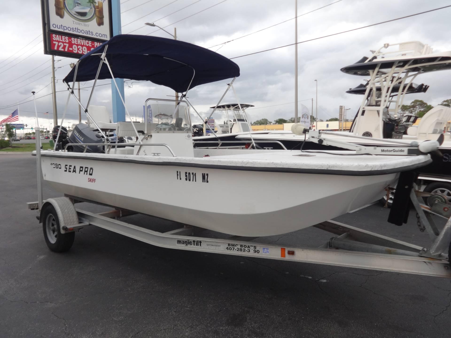Sea Pro S1850CC Skiff
