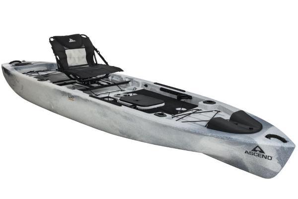 Ascend 128T Yak-Power Sit-On (White/Black)