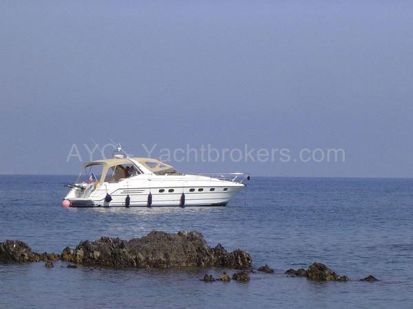 Marine Projects Princess 46 Riviera AYC Yachtbrokers - Princess 46 Riviera