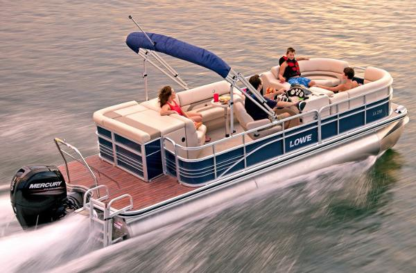 Lowe SS230XD Super Sport Pontoon Manufacturer Provided Image