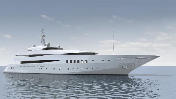 Custom Custom Built Steel MotorYacht