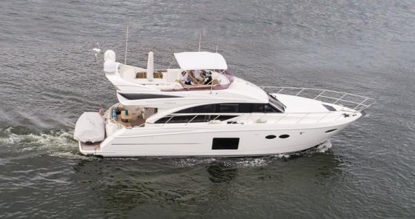 Princess Flybridge 56 Motor Yacht AMY LEIGH