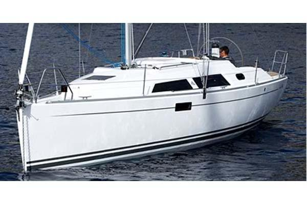 Hanse 320 Manufacturer Provided Image