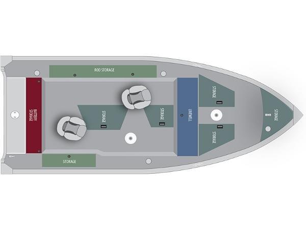 Alumacraft Escape 165 Tiller