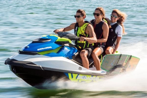 Sea-Doo Wake 155 Manufacturer Provided Image