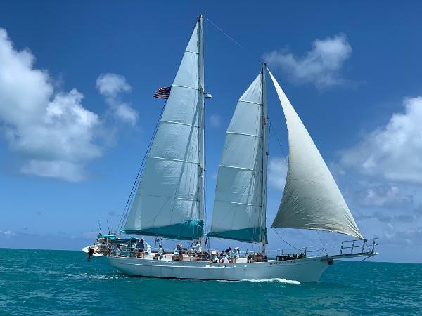 Custom Steel Boatworks 75' Schooner