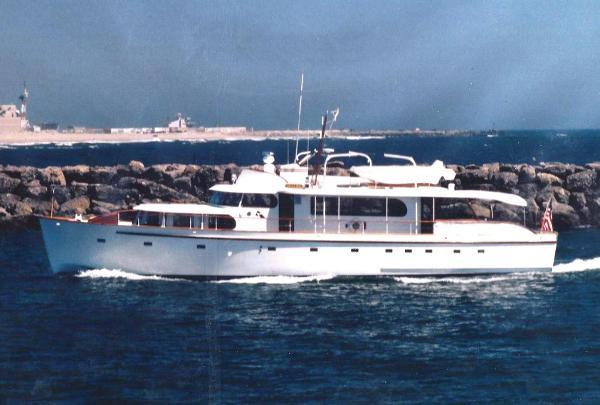 "Monk/Grandy Boat Co. Classic Motoryacht 75' Monk Classic MY ""CHULA MIA"""