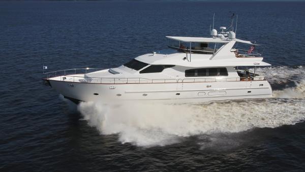 Novatec 80 Motor Yacht Port Running Profile