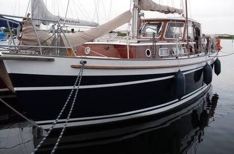 Eigenbau Klassischer Motorsegler vom Bootsbaumeister Ltje Werft  Ba